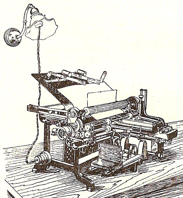 1921 Gammeter Multigraph Folder