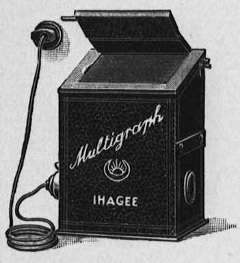 1928 Multigraph Kopierer