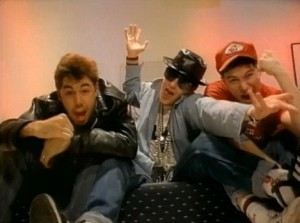 "Beastie Boys, ""Fight For Your Right to Party"""