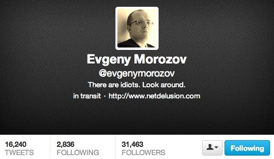 Evgeny Morozov, cyber-socratic