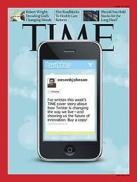 "Steven Johnson cover story, ""How Twitter Will Change the Way We Live"""