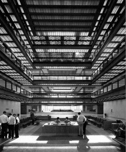 Bell Labs headquarters, Murrray Hill, NJ, designed by Eero Saarinen