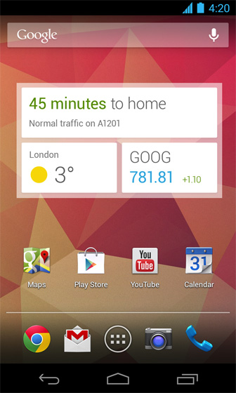 Google Now: answers before you asked