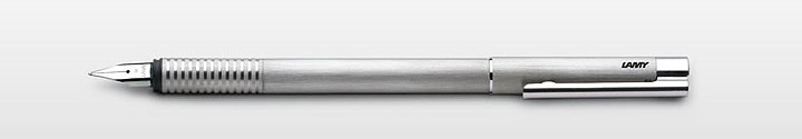 Lamy Logo, brushed aluminum finish. $40, Amazon.